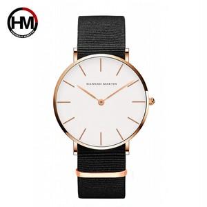 ジャパンクォーツシンプルな女性のファッション時計ホワイトレザーストラップレディース腕時計ブランド防水腕時計36mmCB36-FN