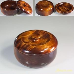 蓋付木製入物W5984