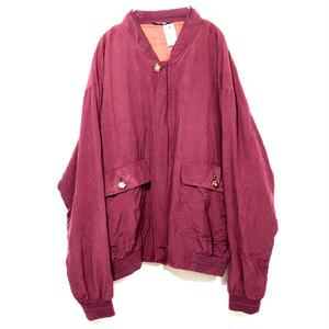 Silk blouson #0196
