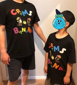 カラフルバナナTシャツ