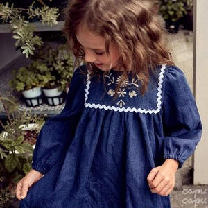 «sold out»«pour enfant» ライリーデニムワンピース Reilly one-piece