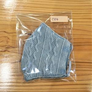 藍染こば屋 / 藍染の編みマスク
