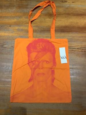 【トートバッグ】David Bowie is a Face in the Crowd Exhibition Tote Bag(V&A museum)