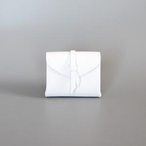 折りショートウォレット#白 / ori short wallet #white