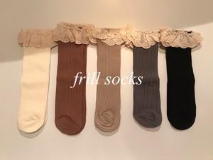 フリルソックス 靴下