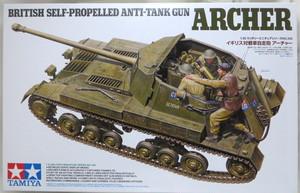 タミヤ 1/35 イギリス 対戦車自走砲 アーチャー