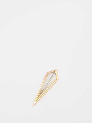 """Ice Blaze"" Crystal Pierced Earring / Natural Instinct"