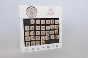 マグネットカレンダー スクエア W052
