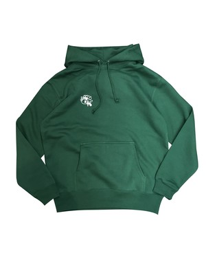 Mr.BULLMAN HOODED SWEAT [GREEN]