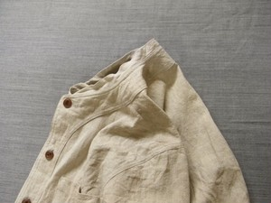 farmers heavylinen shirt / ecru