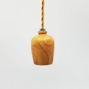 木製のペンダントライト
