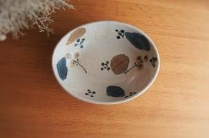砥部焼/カレー皿(小)/木の葉/森陶房