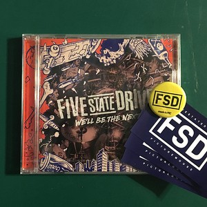 FIVE STATE DRIVE / WE'LL BE THE NEXT (CD)