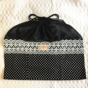 【SALE】いつものバッグがワンコバッグに!バッグ in バッグ(ドット)