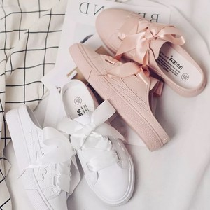 【お取り寄せ商品】☆ribbon lace up shoes 6257