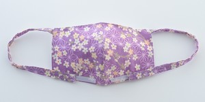 桜と麻の葉/紫