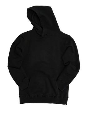 【Yetina】pullover hoodie (black)