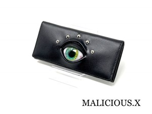 eye wallet / green × yellow