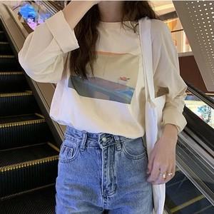 apricotイラストTシャツ U6263