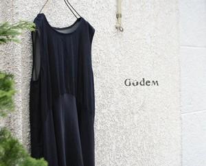 GodeM/ゴーデム WEAVING DENIM ONE PIECE/ウェービングワンピース