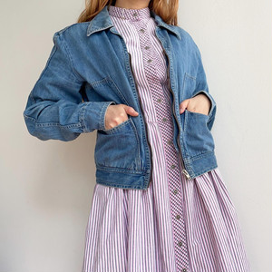 70s vintage denim jacket