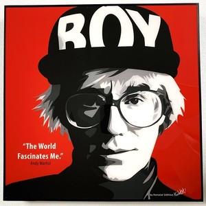 ポップアートパネル アンディ・ウォーホル Andy Warhol