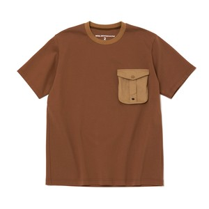HUNTING POCKET T-SHIRT - BEIGE