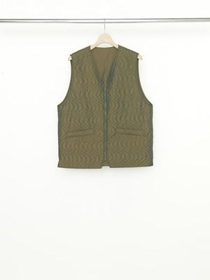 Allege Quilting Vest Khaki AL21W-VT01