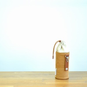 CANVAS PETBOTTLE HOLDER / CAMEL