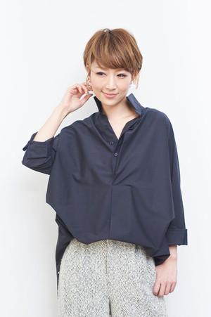 SOPHIEシャツ[ネイビー]
