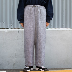 """Orvis"" Houndstooth Wide Elastic Pants"