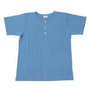 Men's 鹿の子ヘンリーネックシャツ