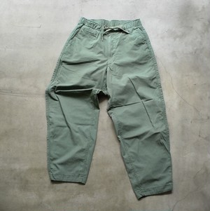 THE NORTH FACE PURPLE LABEL Ripstop Shirred Waist Pants KHAKI