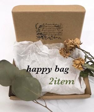 happy bag  2items