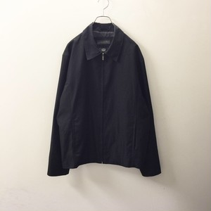 BANANA REPUBLIC ブラックジップアップジャケット size M ブラック色 メンズ古着