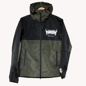 MARRION APPAREL LOGO シェルパーカー 2019  (Olive)
