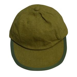 COMFORTABLE REASON / LINEN LEISURE CAP -OLIVE-