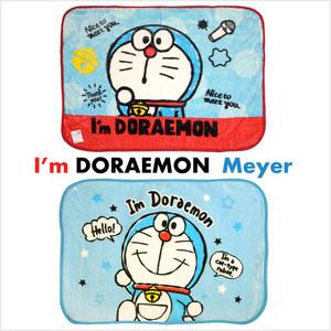 ドラえもん(DORAEMON) マイヤー ひざ掛け ドット ハロー サイズ/(約)70×100cm