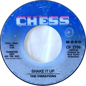 Vibrations, The / Ray Frazier & The Shades Of Madness ‎– Shake It Up / Gonna Get Your Love