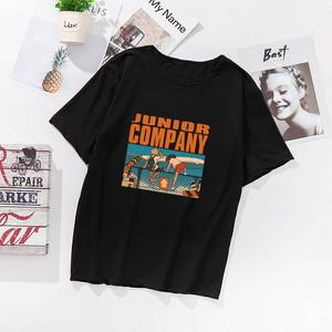 【トップス】アルファベットプリントカジュアル履き心地いいプラスサイズTシャツ