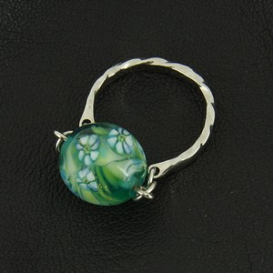 レトロなトンボ玉の指輪no.71