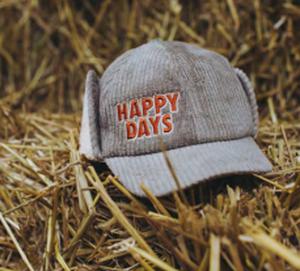 【20AW】カーラインク(CARLIJNQ)cap happy days キャップ 帽子
