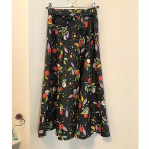 flower print skirt