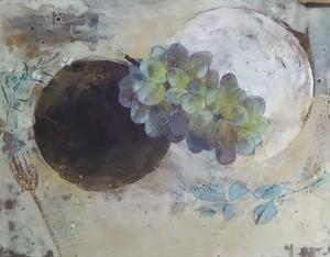 関 郁美 「刻刻」6号 日本画