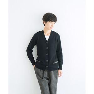 ポケット付きカーディガン(サイズ:38・40)/ カシミヤ