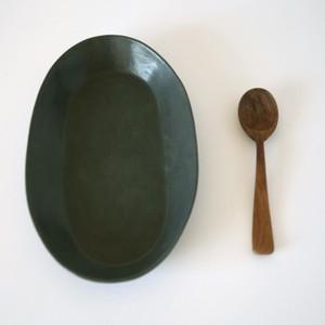 IN-36 オーバルプレート(黒)