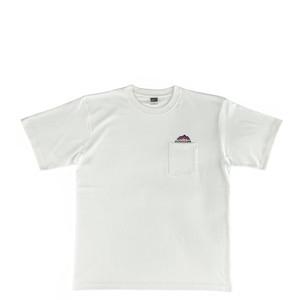 Mountain  NEW LOGO POKET T-SHIRT /  Natural white