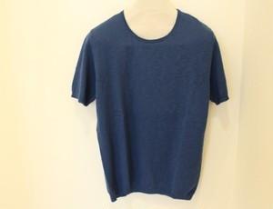 MICHELACCI DANILO Slub Knit Fade Blue