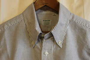 WORKERS / Modified BD Brown Stripe Supima  OX