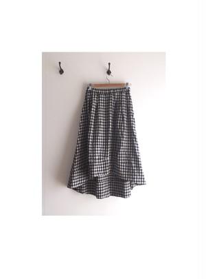 裾切替フィッシュテールスカート